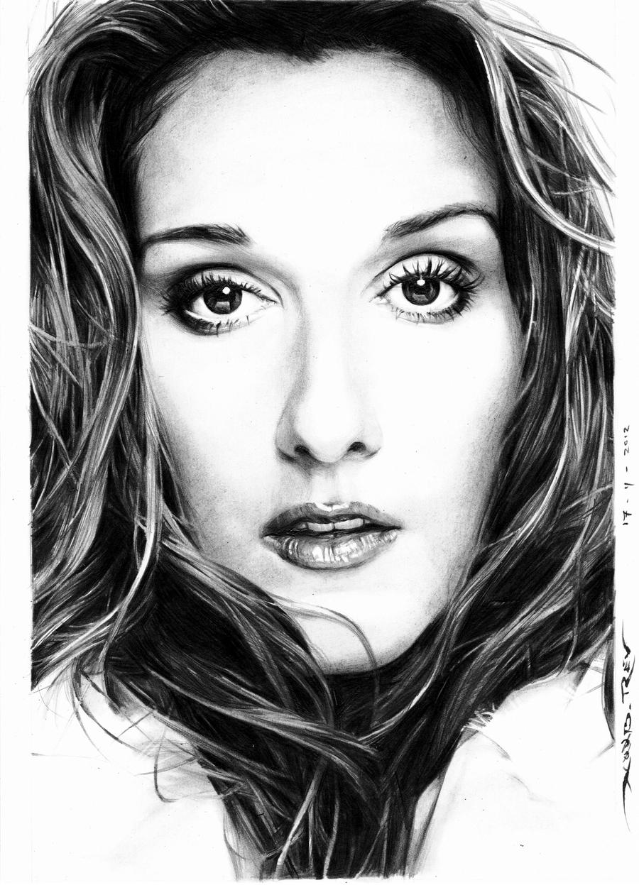 Celine Dion by n00brevolution