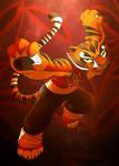 Master Tigress Fanart!
