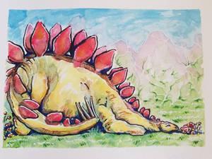 Dreaming Dinosaur