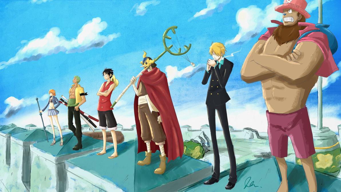 Crunchyroll One Piece Redraw Contest 2015 Entry by Tigris-Lilium