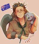 An Aussie!