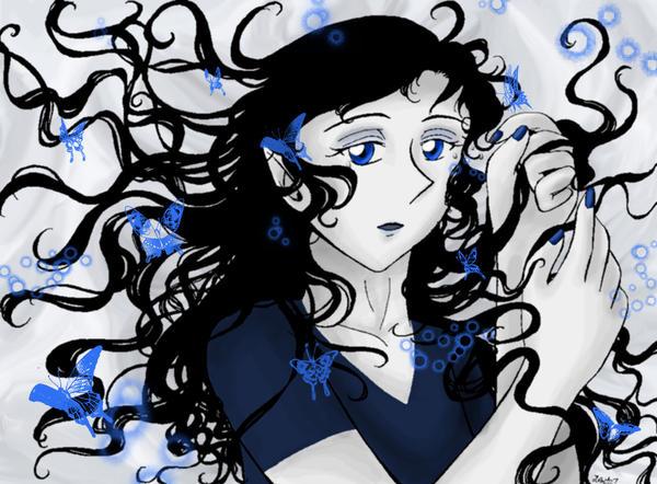 Feeling Blue by AkiAmeko
