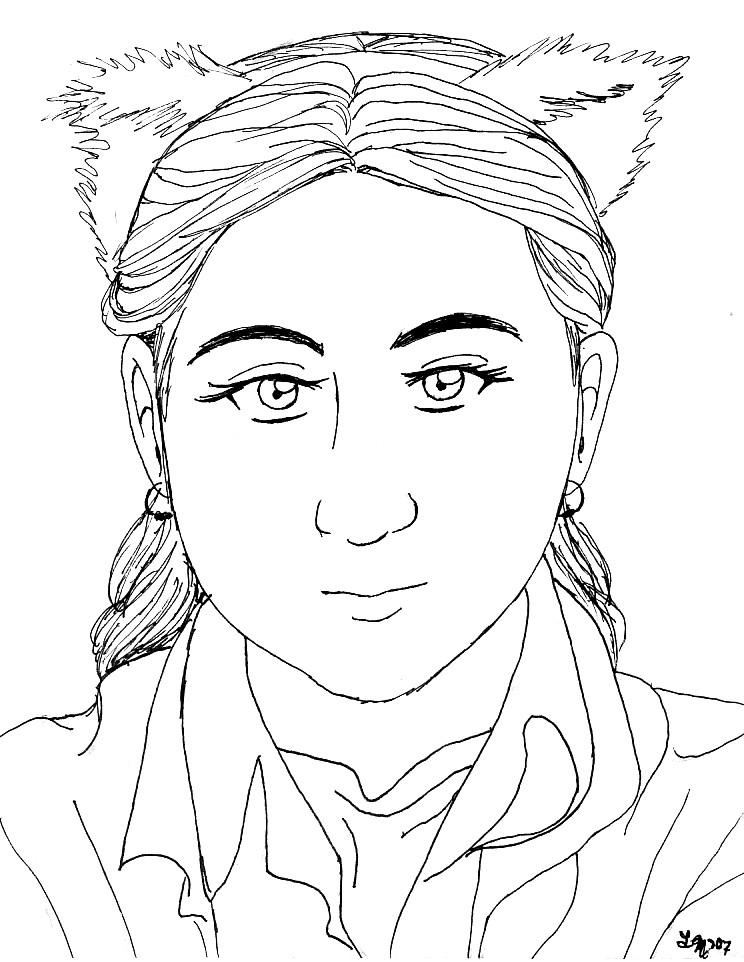 Portrait: Silver by AkiAmeko
