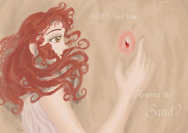 Jewel in the Sand by AkiAmeko