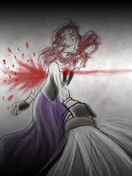 The Stabbing by AkiAmeko