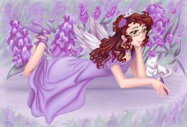 Lilac Princess by AkiAmeko