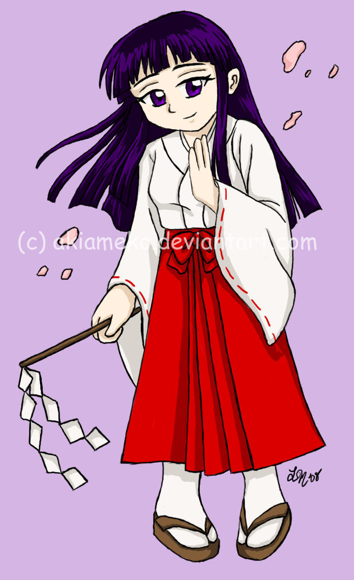 T-shirt Transfer: Priestess by AkiAmeko