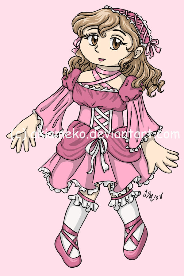 T-Shirt Transfer: Sweet Lolita by AkiAmeko