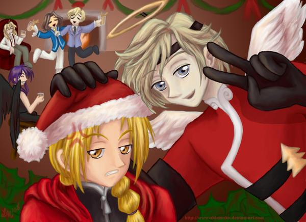 A Vic-y Christmas by AkiAmeko