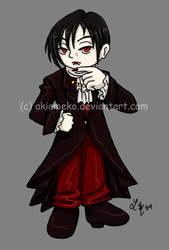 T-Shirt Transfer: Vampire Boy by AkiAmeko