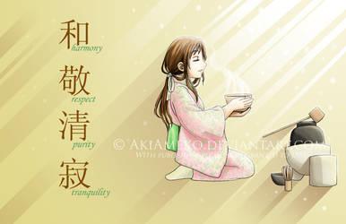 Chanoyu by AkiAmeko