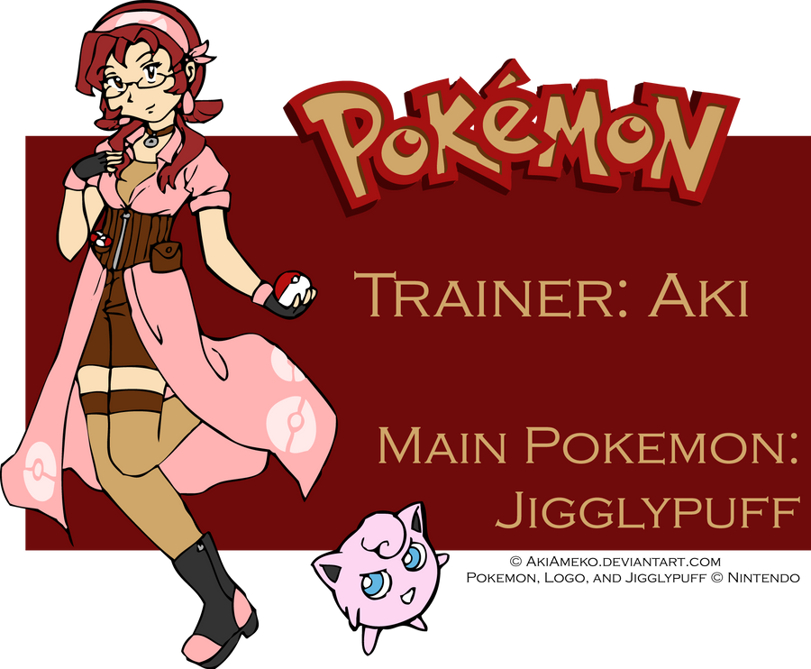 TRAINER AKI WANTS TO BATTLE by AkiAmeko