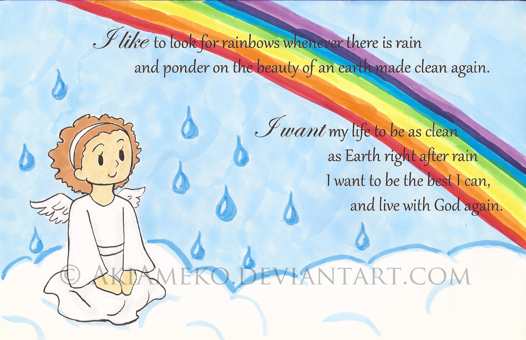 Baptism Card By AkiAmeko