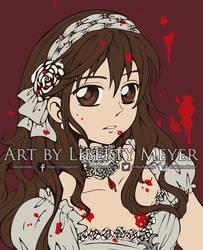 Yuki Character Portrait by AkiAmeko