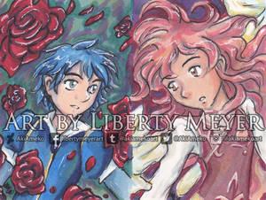 Romeo x Juliet Couple's Card