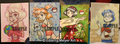 Sketch Card Commissions Open for a Limited Time! by AkiAmeko