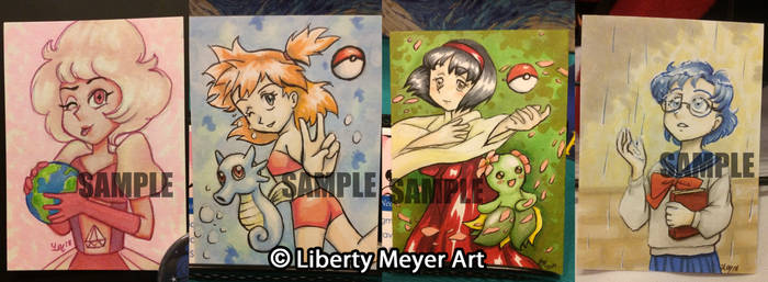 Sketch Card Commissions Open for a Limited Time!