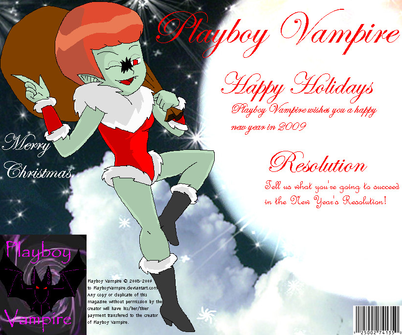 Playboy Vampire-2009 Holiday by PlayboyVampire