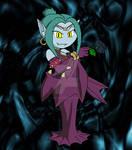 Toon Vampire Lady