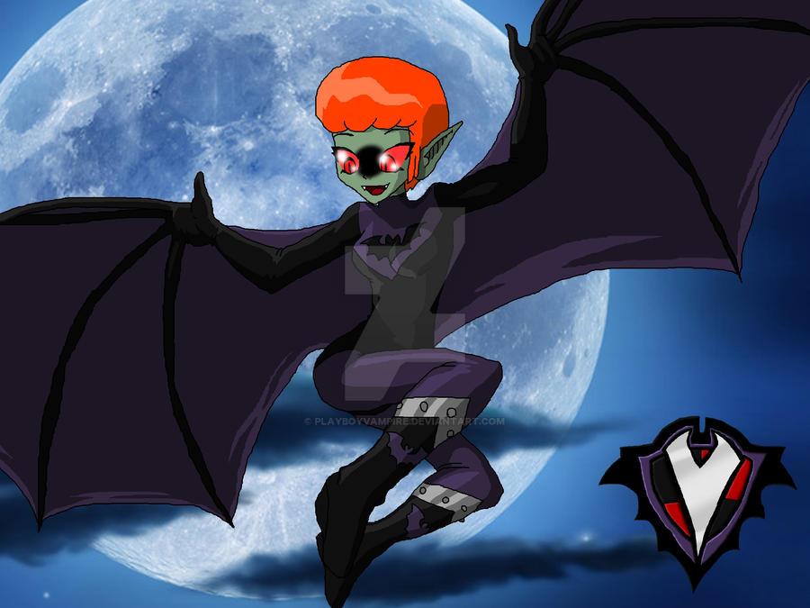 Playboy Vampire - Batsuit - Zoey in the Sky by PlayboyVampire