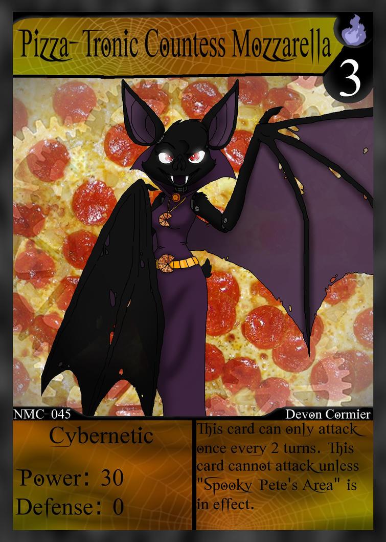 NMC - 045 - Pizza-Tronic Countess Mozzarella by PlayboyVampire