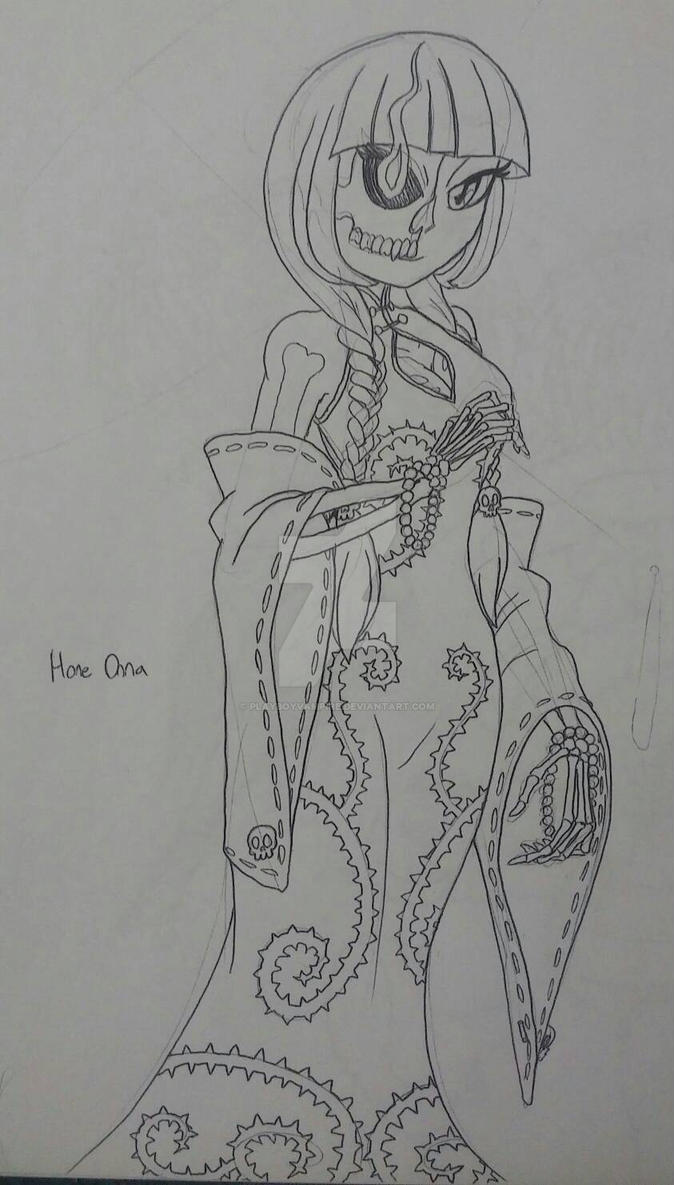 Skeleton - NecroMasters - Hone-Onna by PlayboyVampire