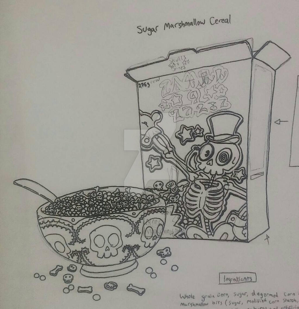 Sk - NecroMasters - Sugary Marshmallow Cereal by PlayboyVampire