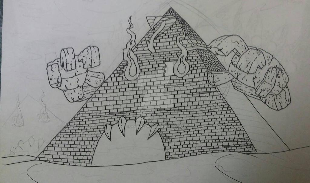 Skeleton - NecroMasters - Scarhara Pyramid by PlayboyVampire