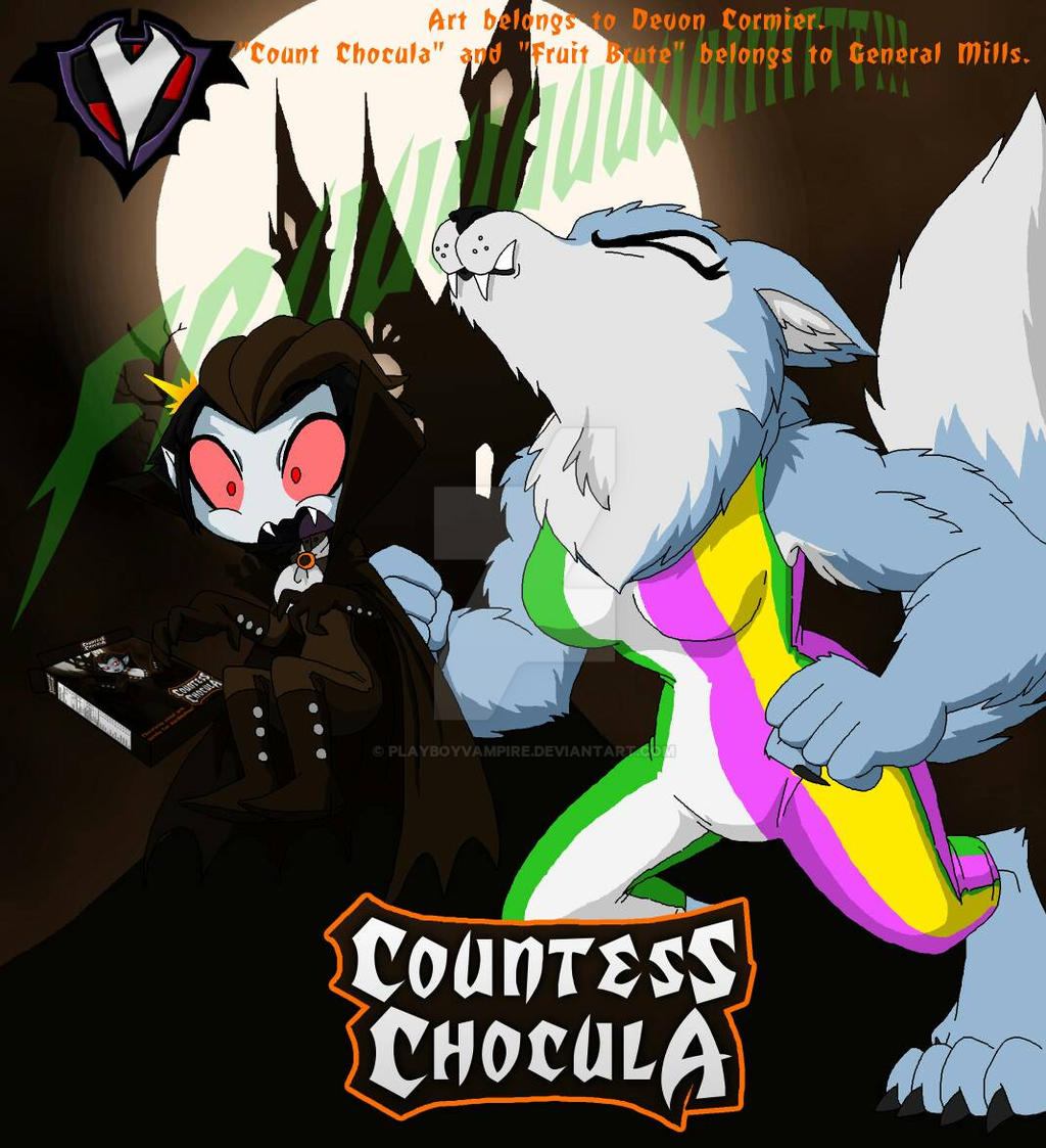 Countess Chocula - Fruit Brute by PlayboyVampire