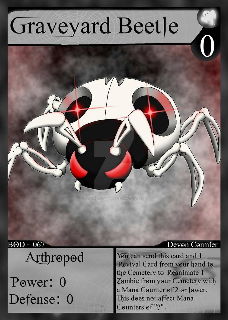 NecroMasters - BOD - 067 - Graveyard Beetle by PlayboyVampire