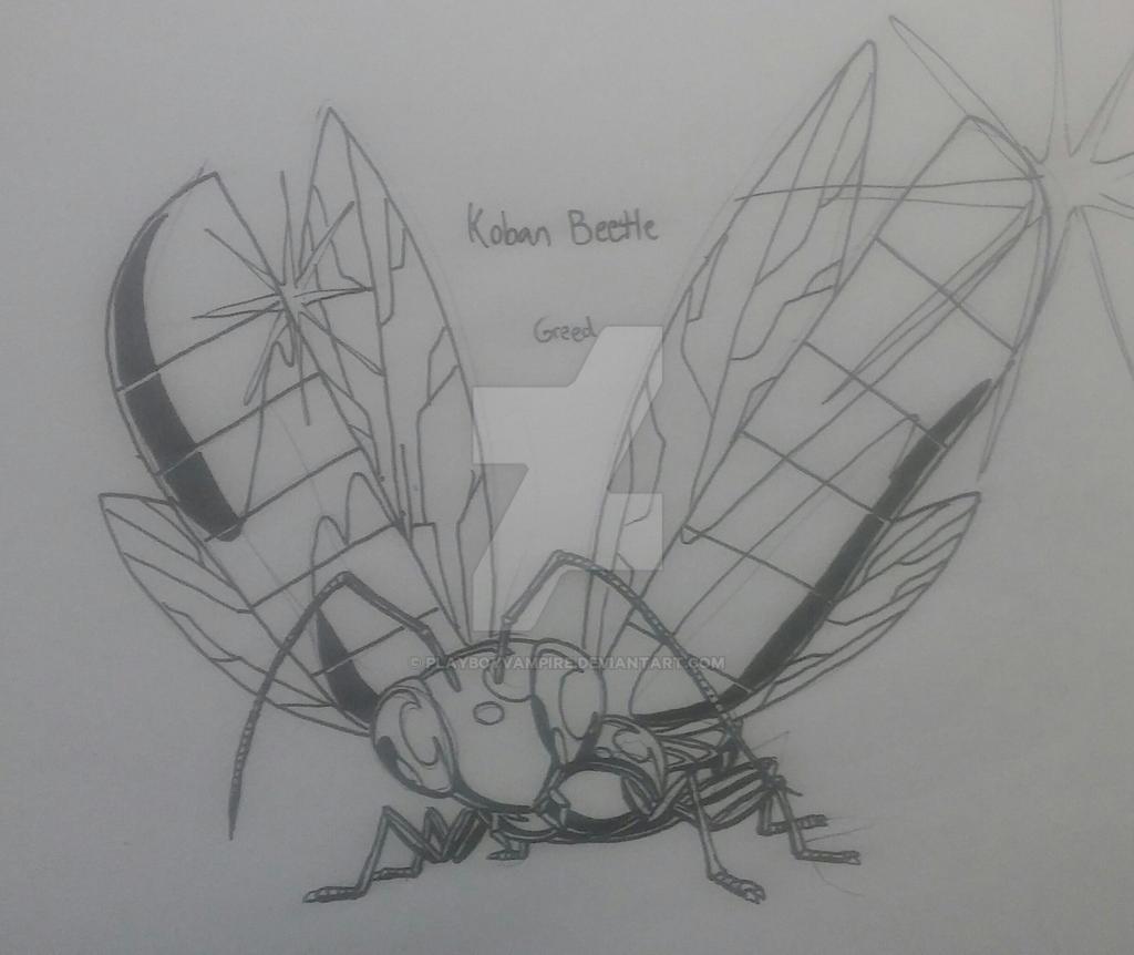 Skeleton - NecroMasters - Koban Beetle by PlayboyVampire