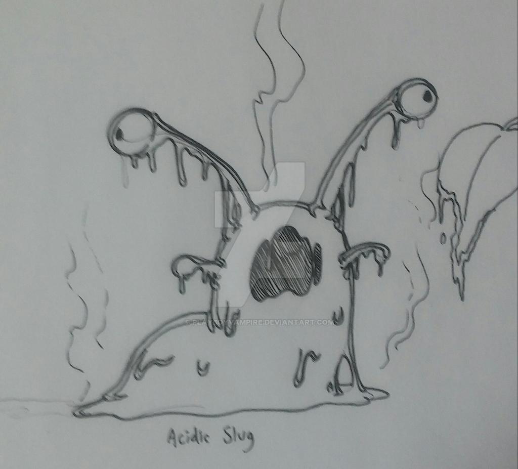 Skeleton - NecroMasters - Acidic Slug by PlayboyVampire