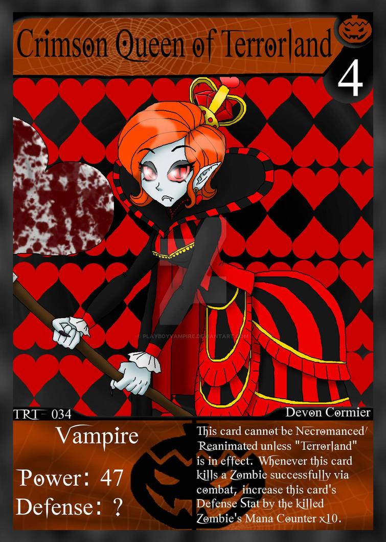 NecroMasters - TRT - 034 - Crimson Queen by PlayboyVampire