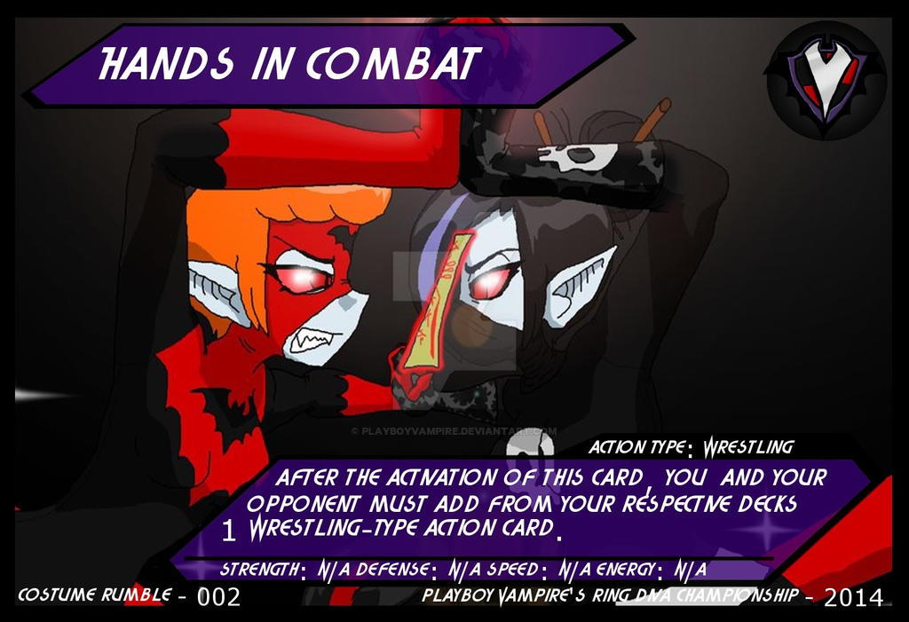 PBVTCG - Costume Rumble - 002 - Hands in Combat by PlayboyVampire