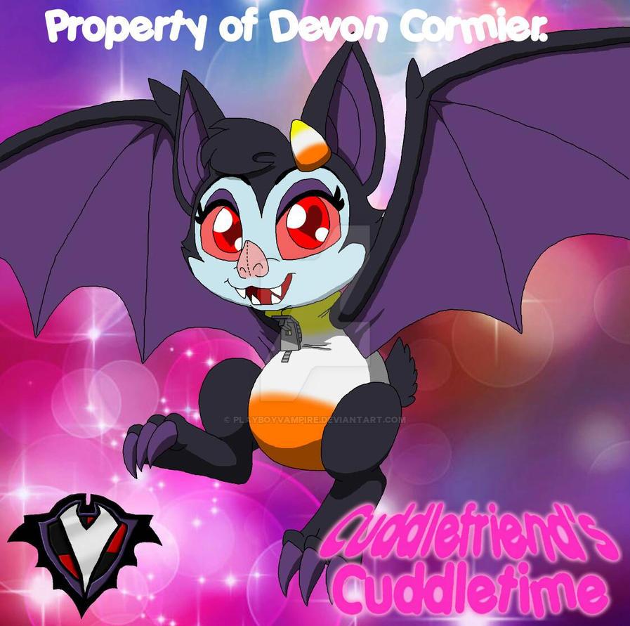 Cuddlefriend's Cuddletime - Candy the Bat by PlayboyVampire