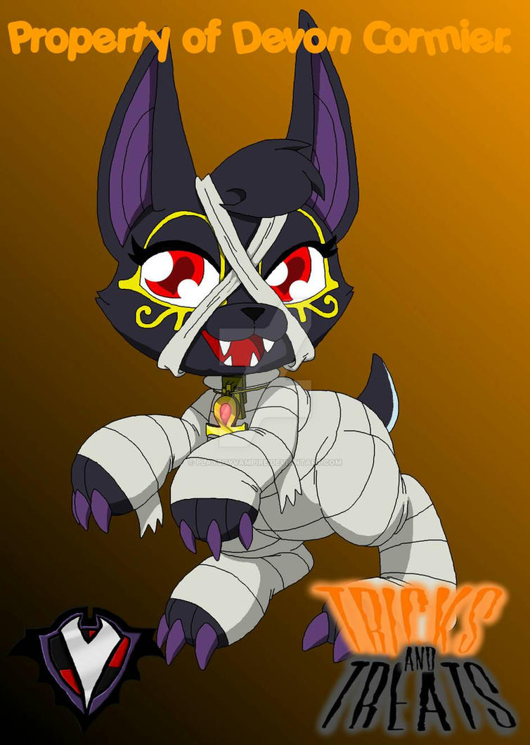 Tricks and Treats - Anubis the Jackal by PlayboyVampire