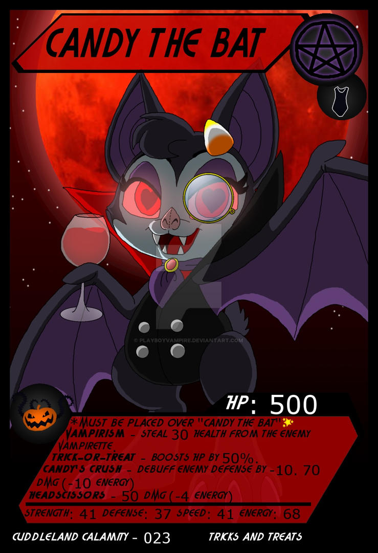 Cuddleland Calamity - 023 - Candy the Bat by PlayboyVampire