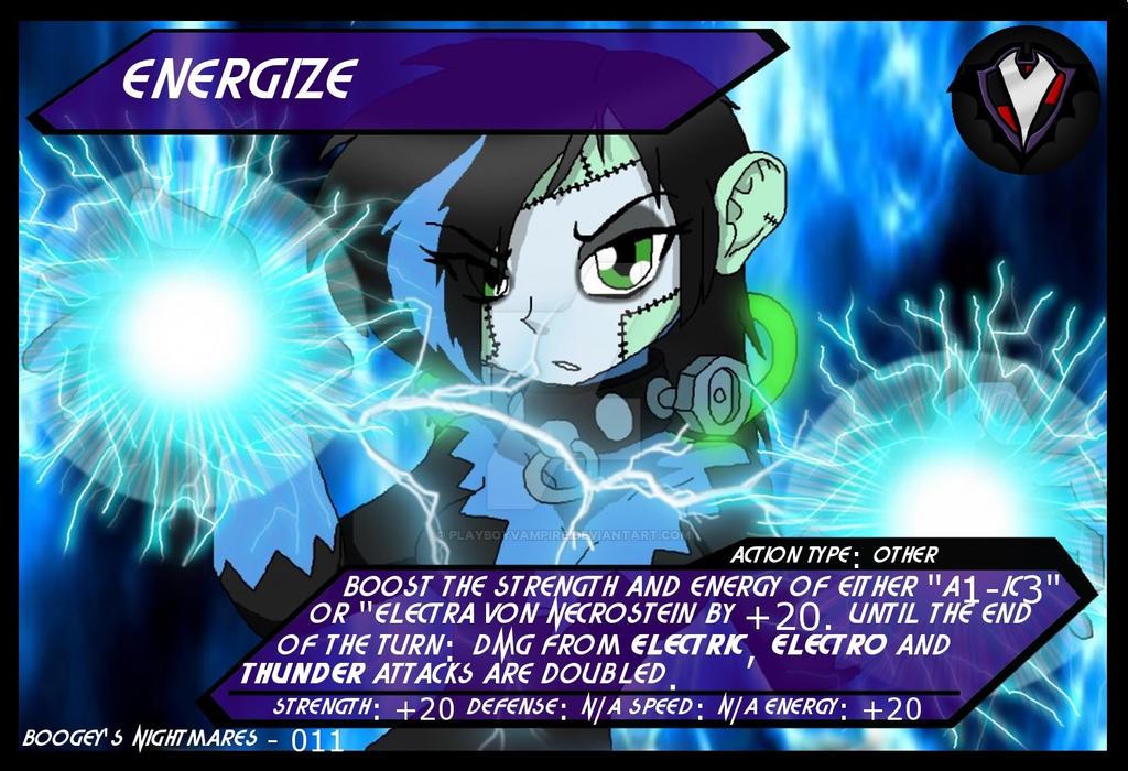 PBVTCG - BGNM - 011 - Energize by PlayboyVampire