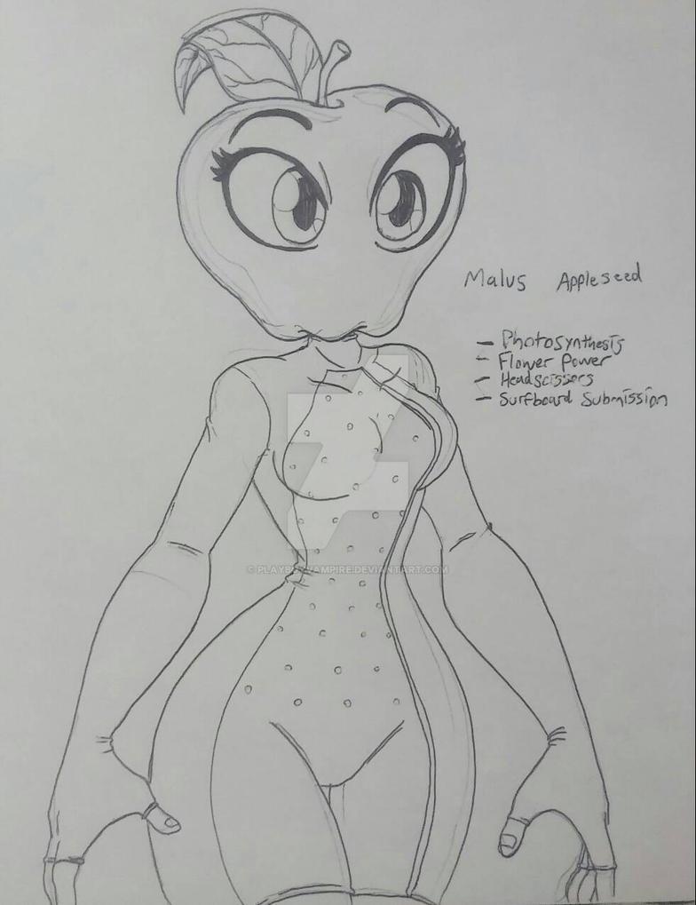 Skeleton - Malus Appleseed by PlayboyVampire