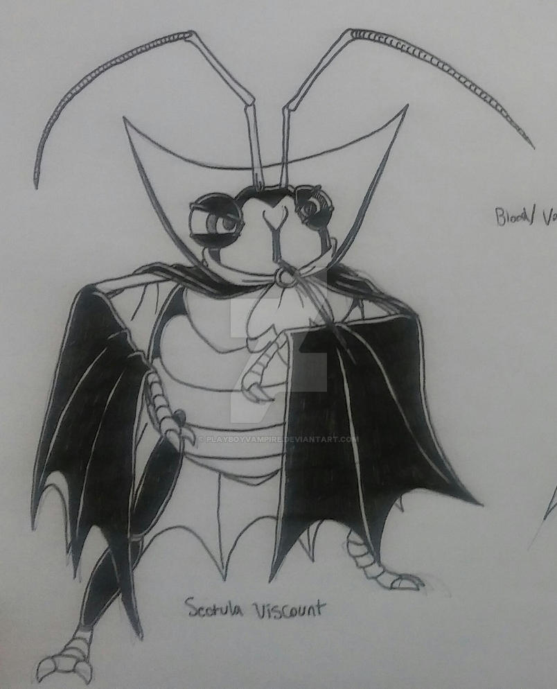 NecroMasters - Skeleton - Sectula Viscount by PlayboyVampire