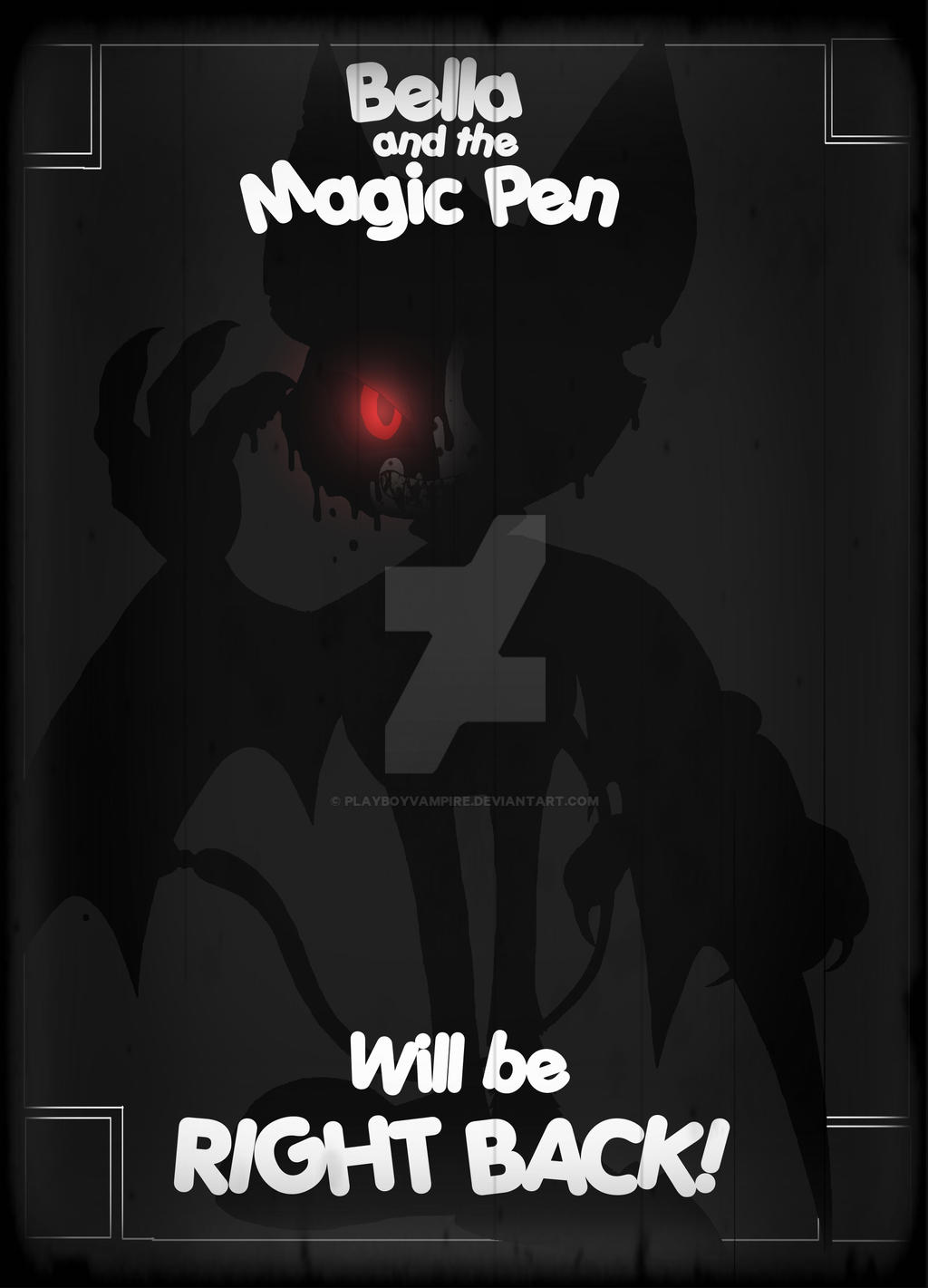 Bella and the Magic Pen Part 2 Teaser by PlayboyVampire