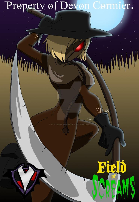 Field of Screams - Harvest Lady by PlayboyVampire