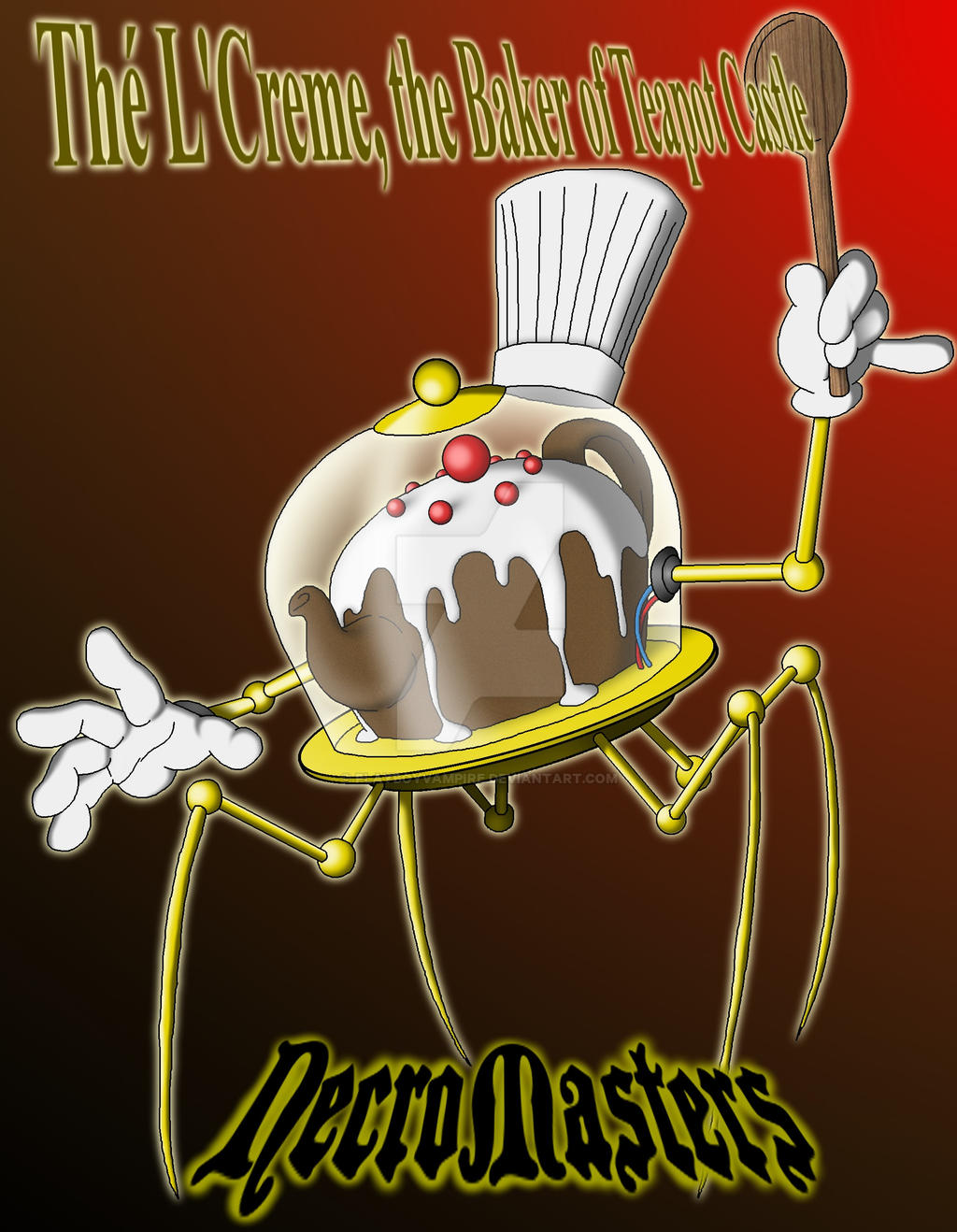 The L'Creme, the Baker of Teapot Castle by PlayboyVampire
