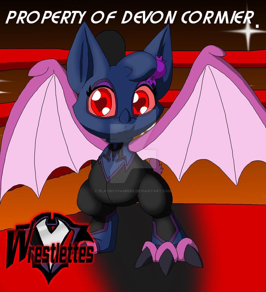 Wrestlettes - Sugar the Masked Bat by PlayboyVampire