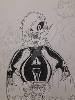 Skeleton - Getting Goosebumps - Vampire-in-a-Can