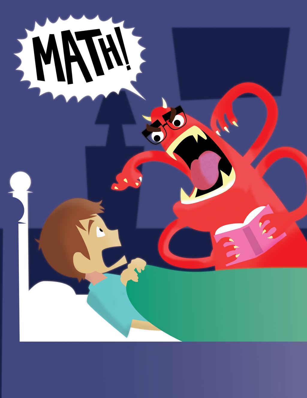 Mathew: The math monster by Zalogon