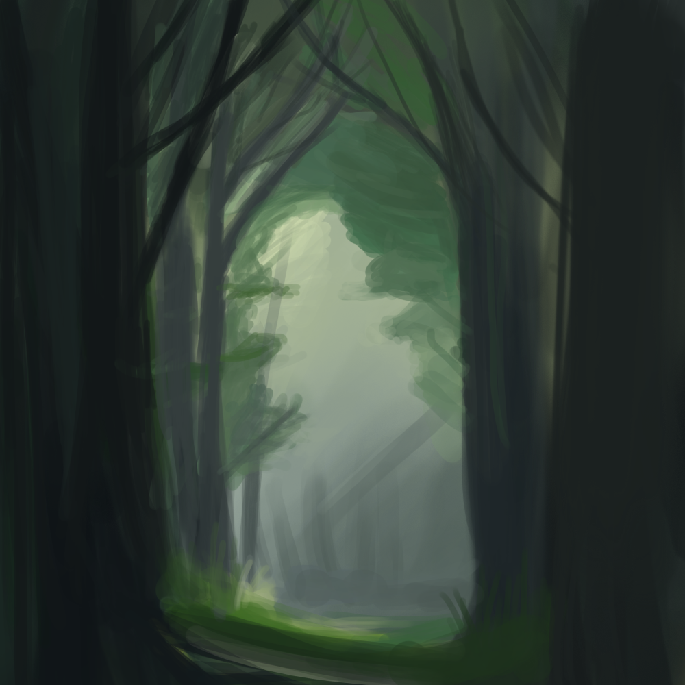 Forest practice by Zalogon
