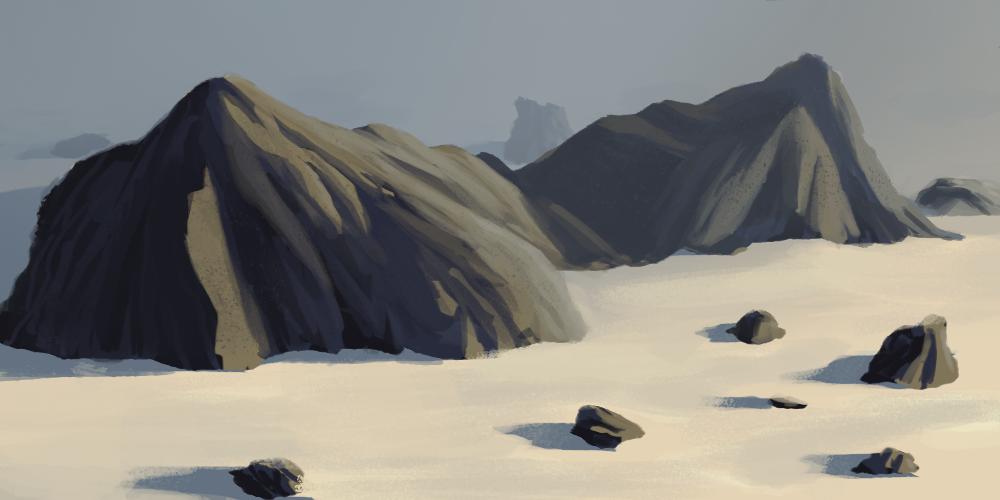 Color Practice - Rocks by Zalogon