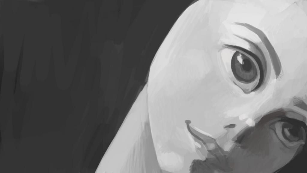 Creepy Face by Zalogon