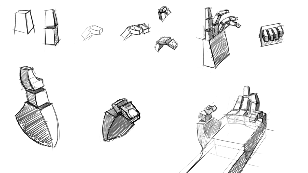 Hand Practice by Zalogon